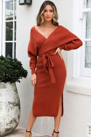 Chikas Sweater Midi Dress - Product Mini Image