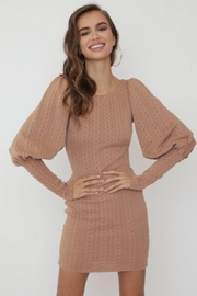 Chikas Sweater Mini Dress - Front cropped