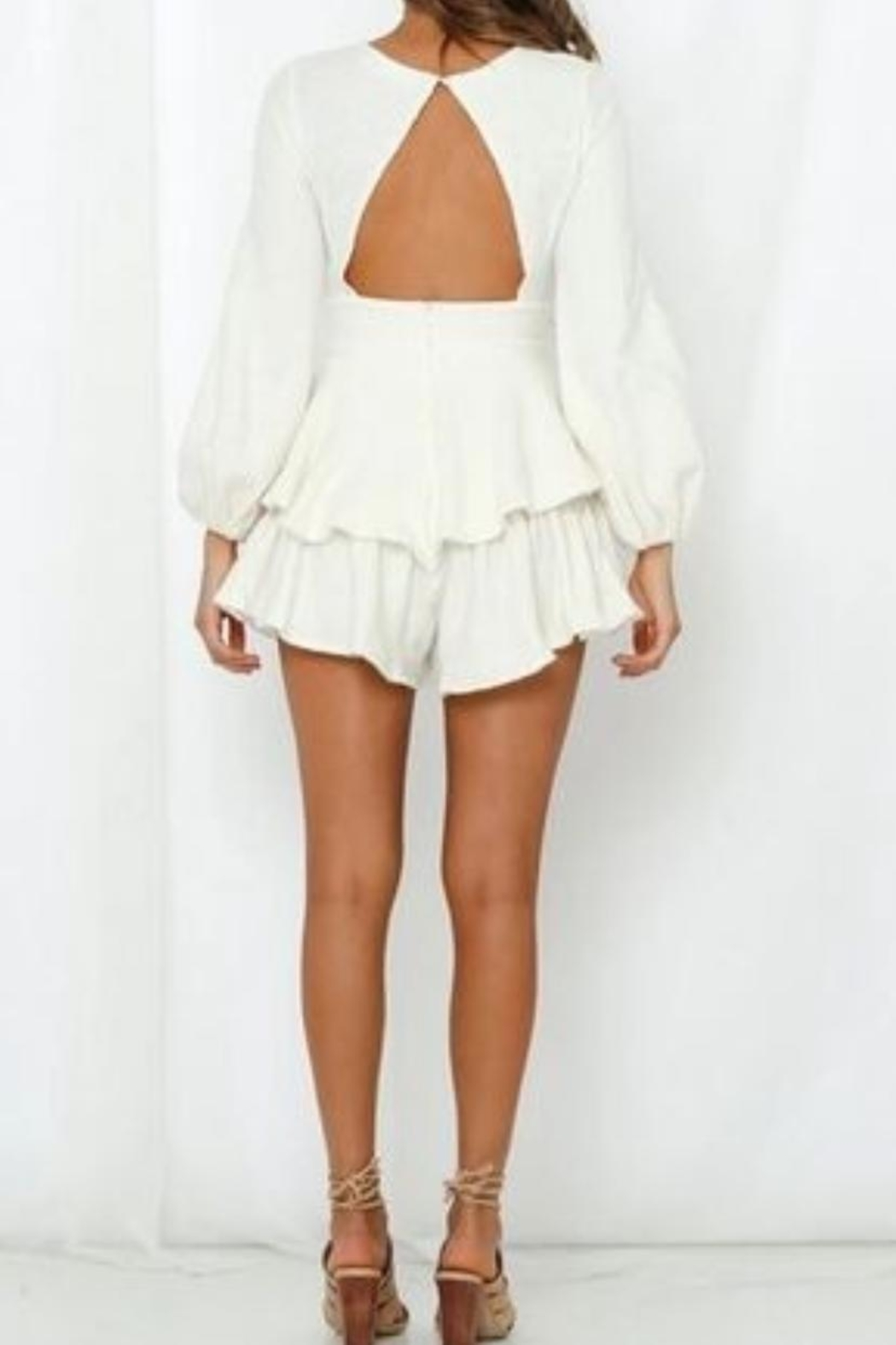 Chikas Sweater Romper - Front Full Image