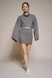 Chikas Sweater Skirt Set - Front cropped