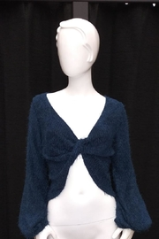 Chikas Teal Blue Sweater - Product Mini Image