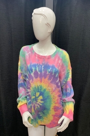 Chikas Tie Dye Sweater - Product Mini Image