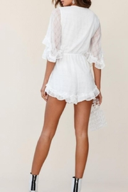Chikas Tie Front Romper - Front full body