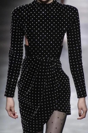 Chikas Velvet Polkadot Dress - Product Mini Image
