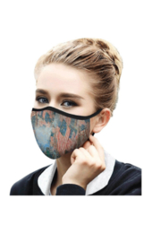 DiJore Childe Hassam Fourth of July Face Mask - Product Mini Image