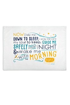 DEMDACO Children's Bedtime-Prayer Pillowcase - Product List Image