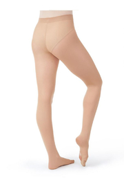 Capezio Children's Ultra Soft Transition Tights - Side cropped