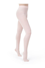 Capezio Children's Ultra Soft Transition Tights - Front cropped