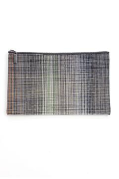 Chilewich Plaid Large Zip - Alternate List Image