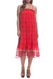 Endless Rose Chili Boarder Dress - Product Mini Image