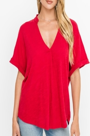 Lush Chili Pepper Top - Front cropped