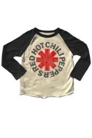Rowdy Sprout Chili Peppers Raglan - Front cropped