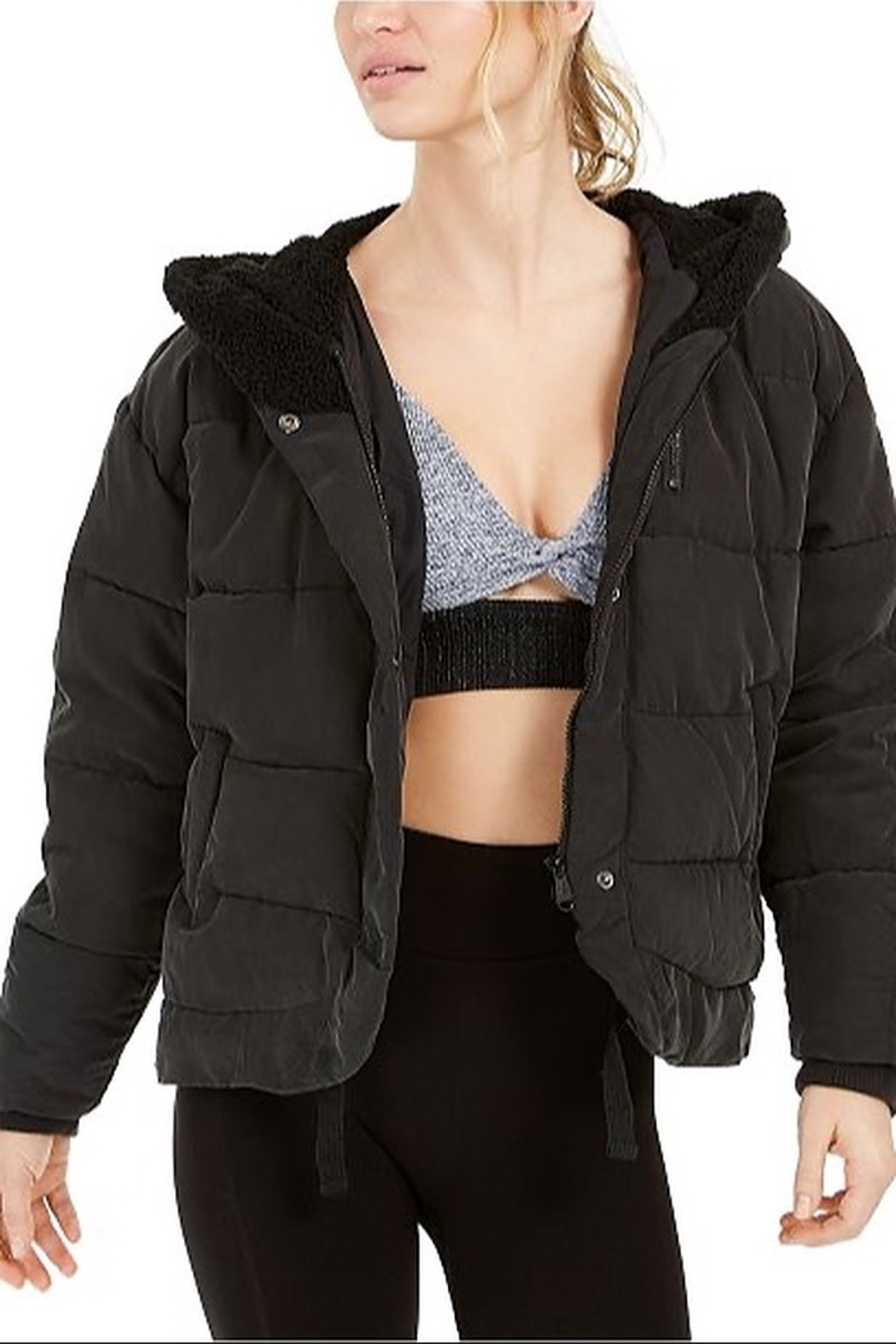 Free People Chill Factor Puffer - Side Cropped Image