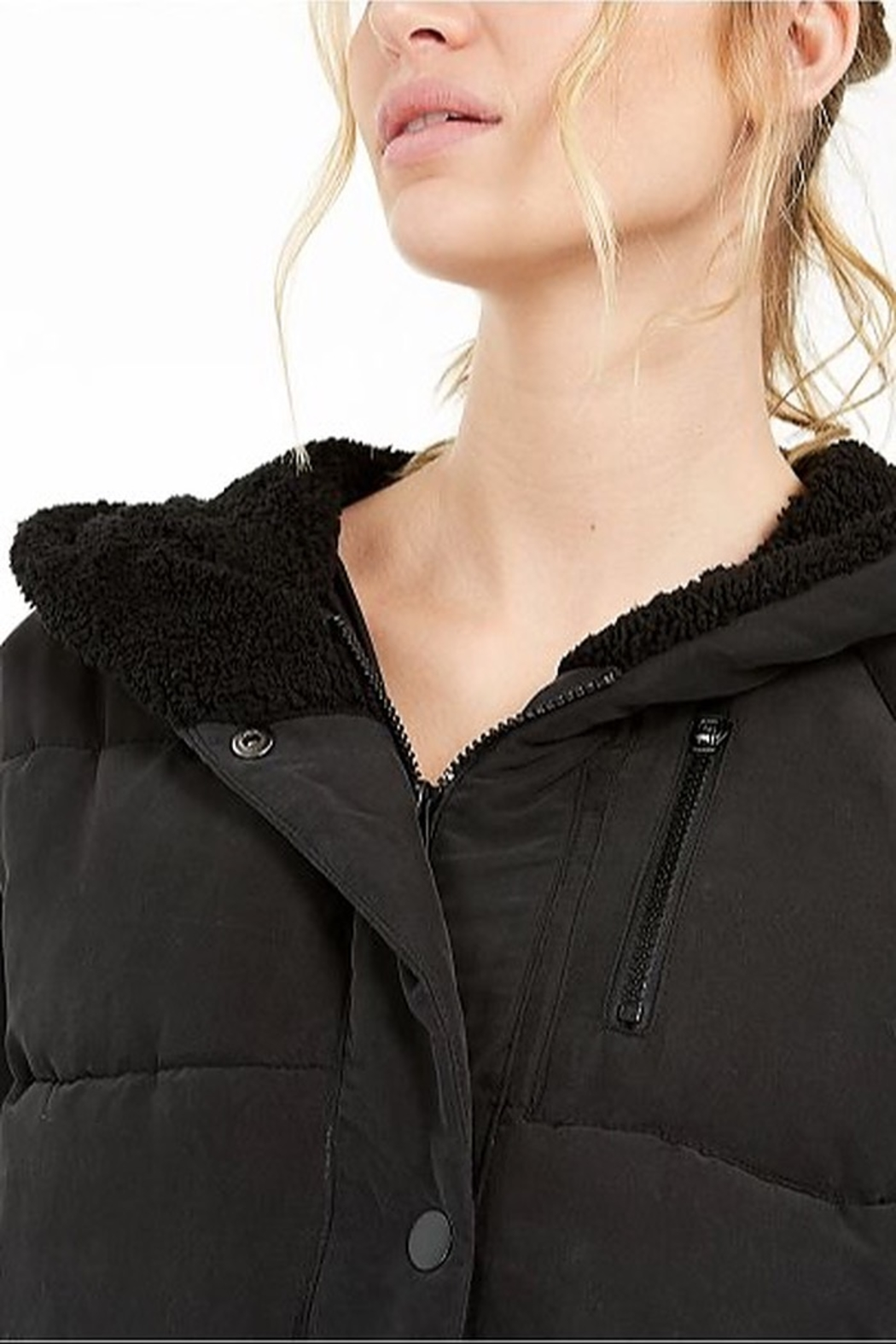 Free People Chill Factor Puffer - Back Cropped Image