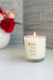 MERIWETHER Chill Out Candle - Front cropped