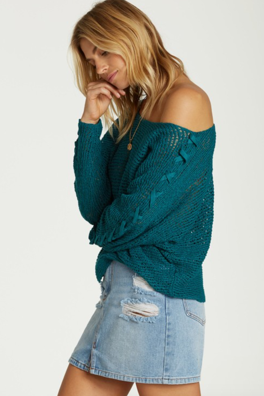 Billabong Chill Out Sweater - Front Full Image