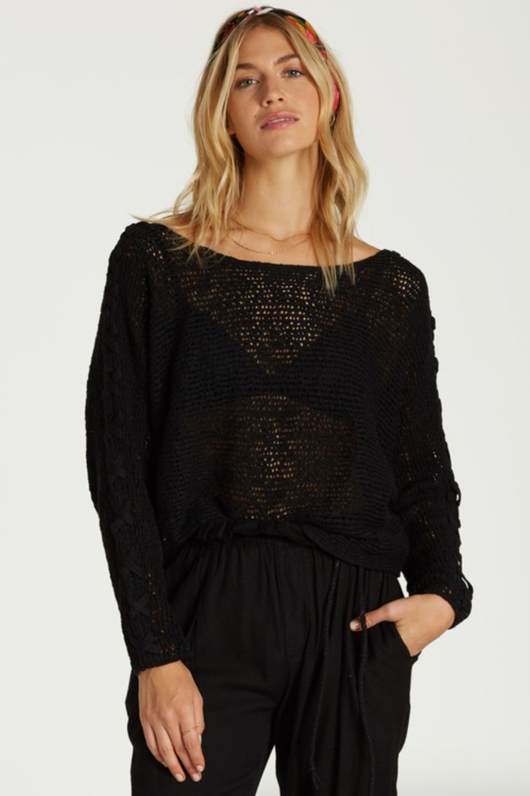Billabong Chill Out Sweater - Front Cropped Image