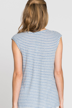 Nic + Zoe Chill Stripe Top - Alternate List Image