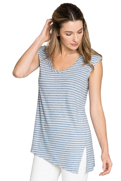 Nic + Zoe Chill Stripe Top - Product List Image