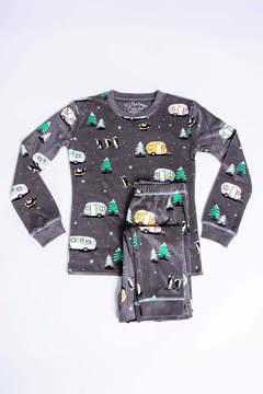 PJ Salvage Chillout Kids PJ Set - Product List Image