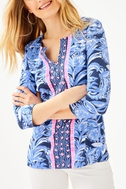 Lilly Pulitzer Chillylilly Karina Tunic - Front cropped