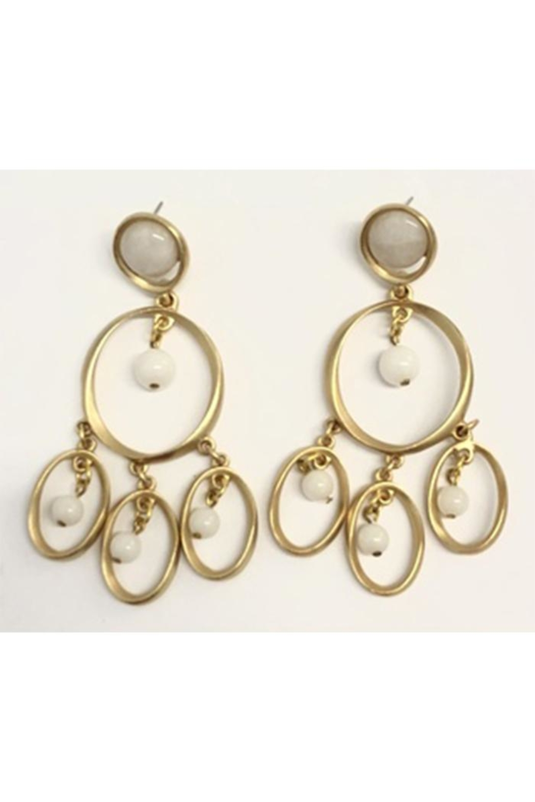 Stephanie Kantis Chime Earring - Front Cropped Image