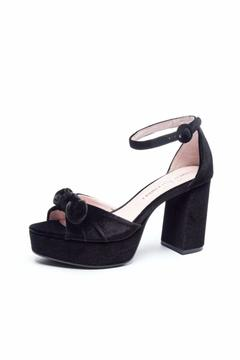 Shoptiques Product: Black Velvet Heels