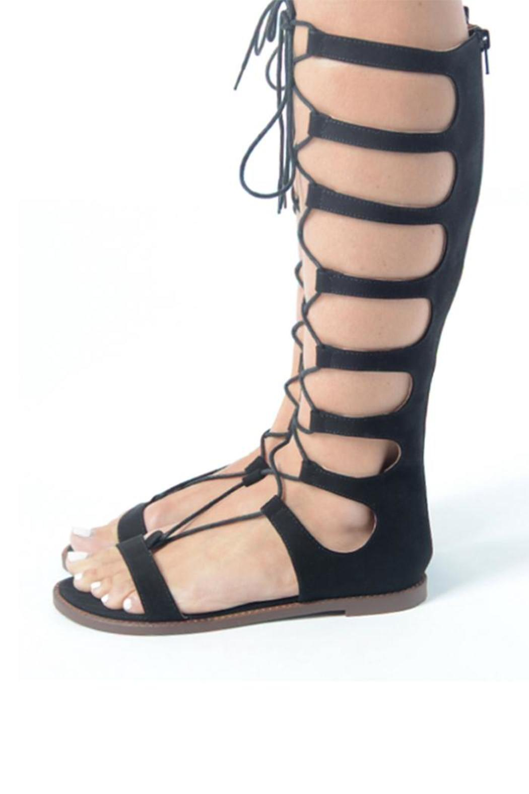 49405e5af0cd75 Chinese Laundry Galactic Gladiator Sandal from Miami by Linda ...