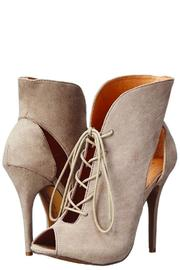 Chinese Laundry Julius Taupe Heel - Front full body