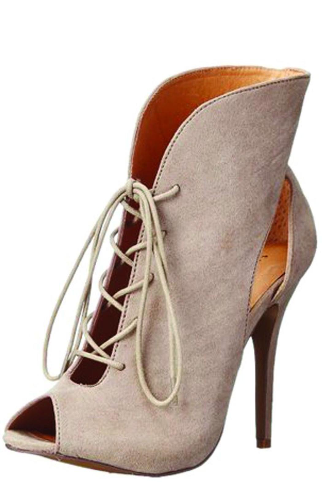Chinese Laundry Julius Taupe Heel - Front Cropped Image