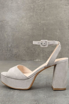 Chinese Laundry Micro Suede Heels - Alternate List Image