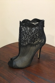 Chinese Laundry Open Toe Booties - Front cropped