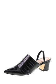 Chinese Laundry Paolo Crocodile Mules - Front cropped