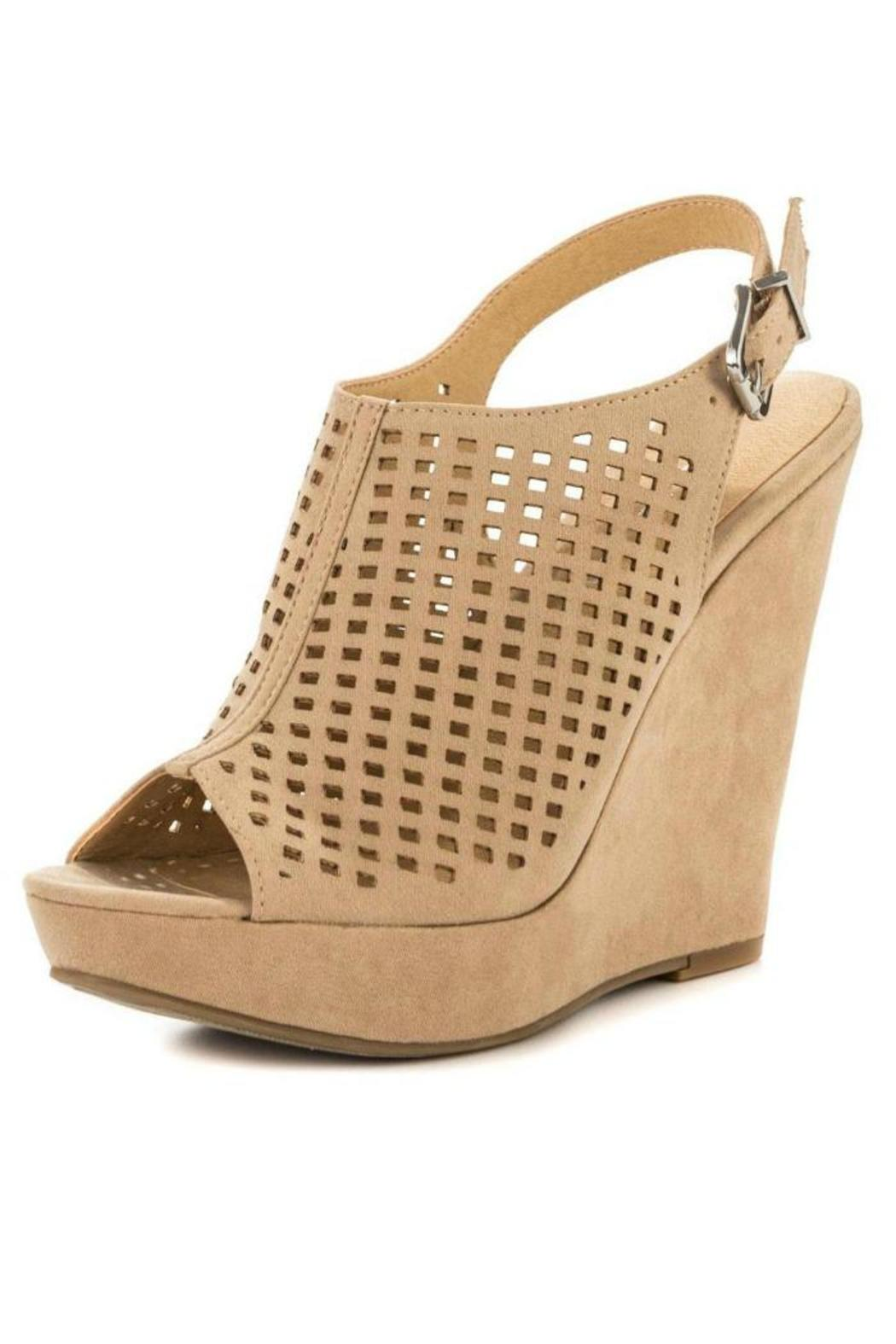 laundry retro wedge from california by heel sole