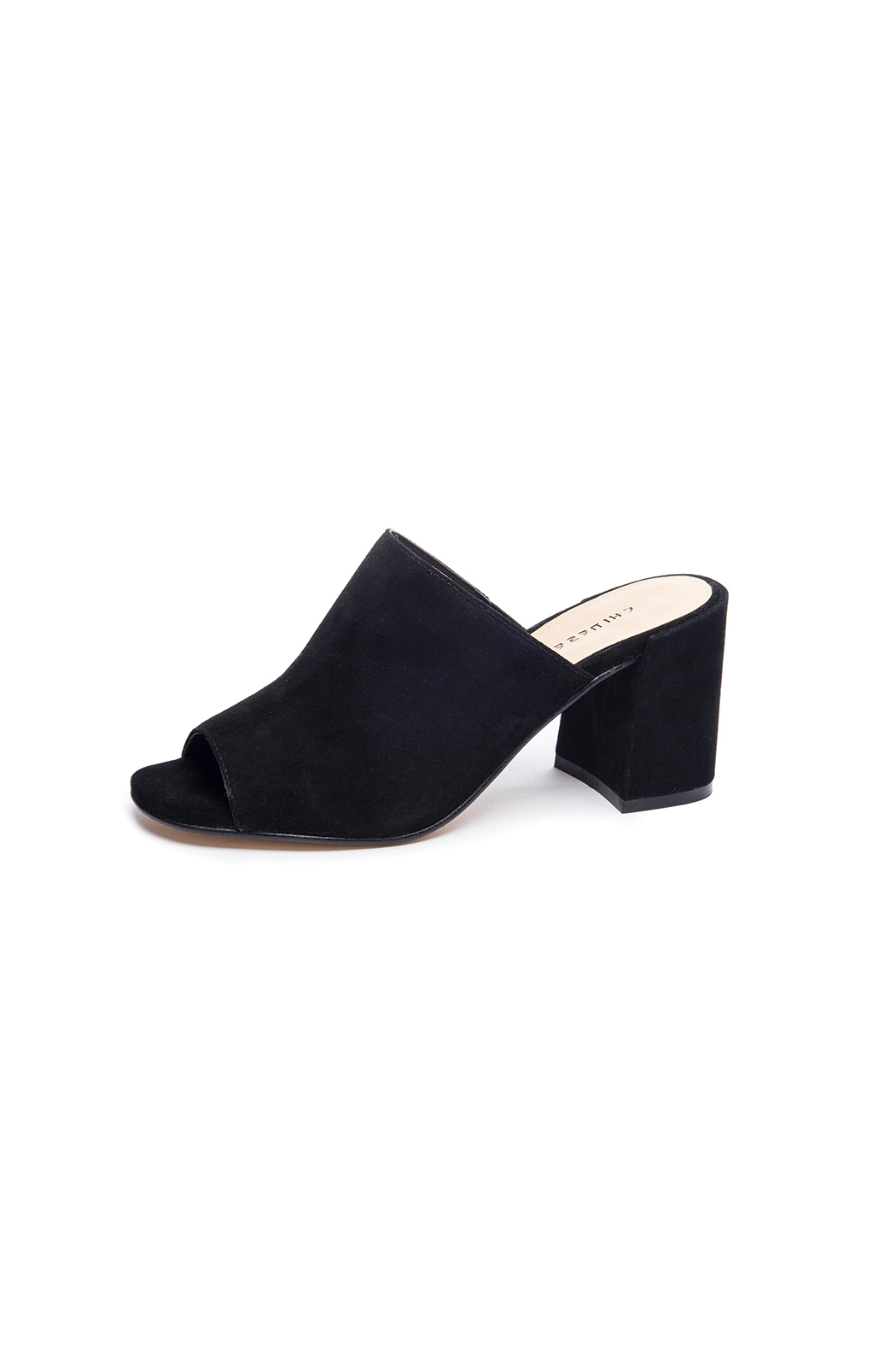 68ede617b134 Chinese Laundry Sammy Peep Toe Mule from New York by Luna — Shoptiques