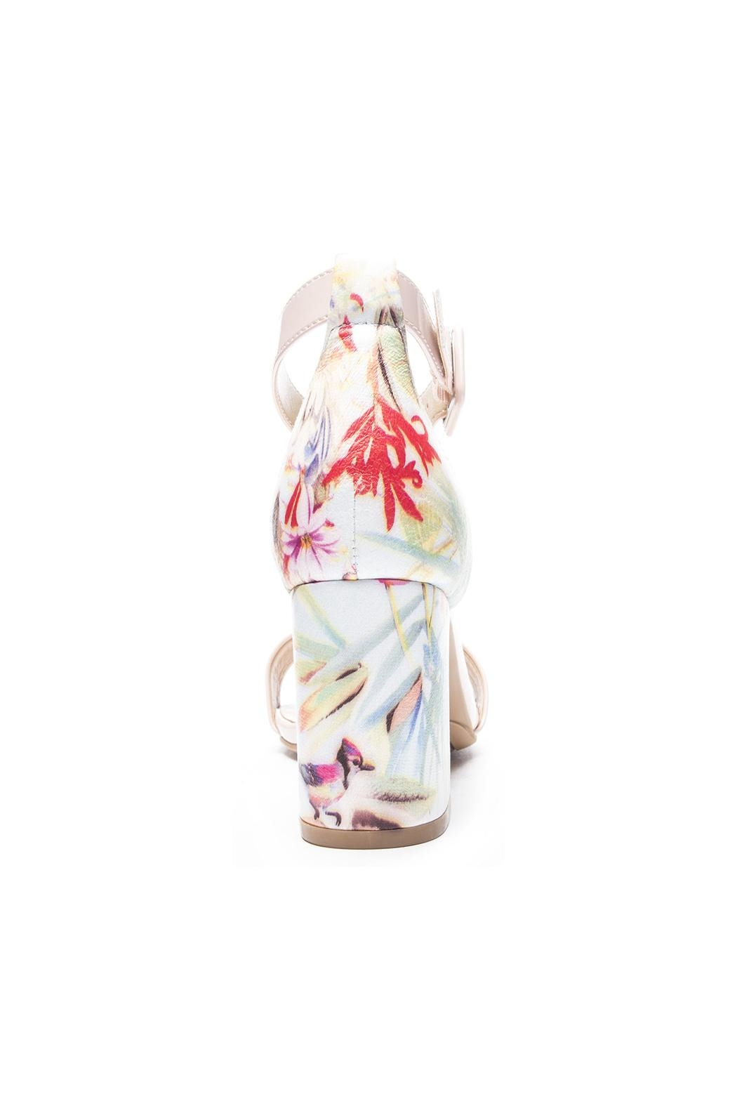 Chinese Laundry Soft Floral Heels - Front Full Image