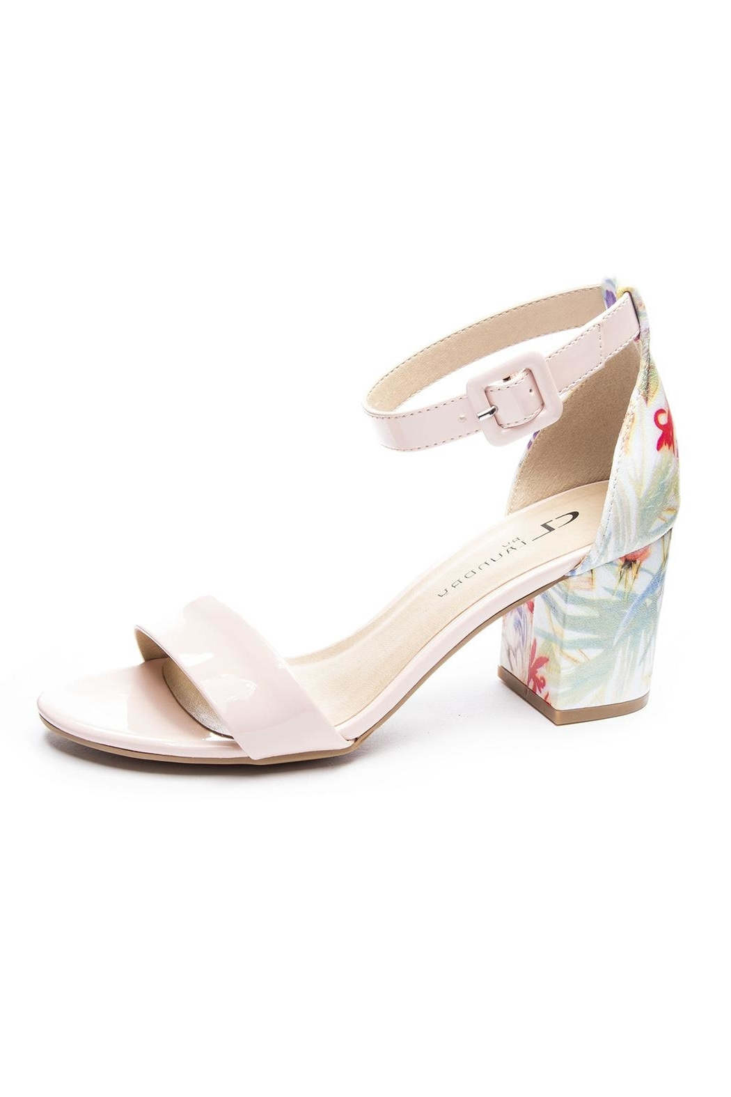 Chinese Laundry Soft Floral Heels - Main Image