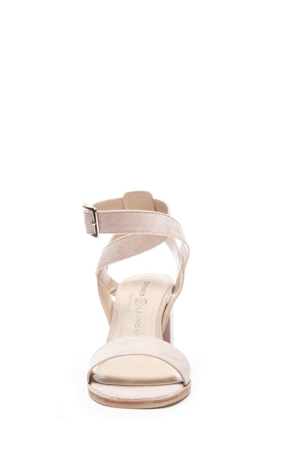 Chinese Laundry Stassi Suede Heel - Side Cropped Image