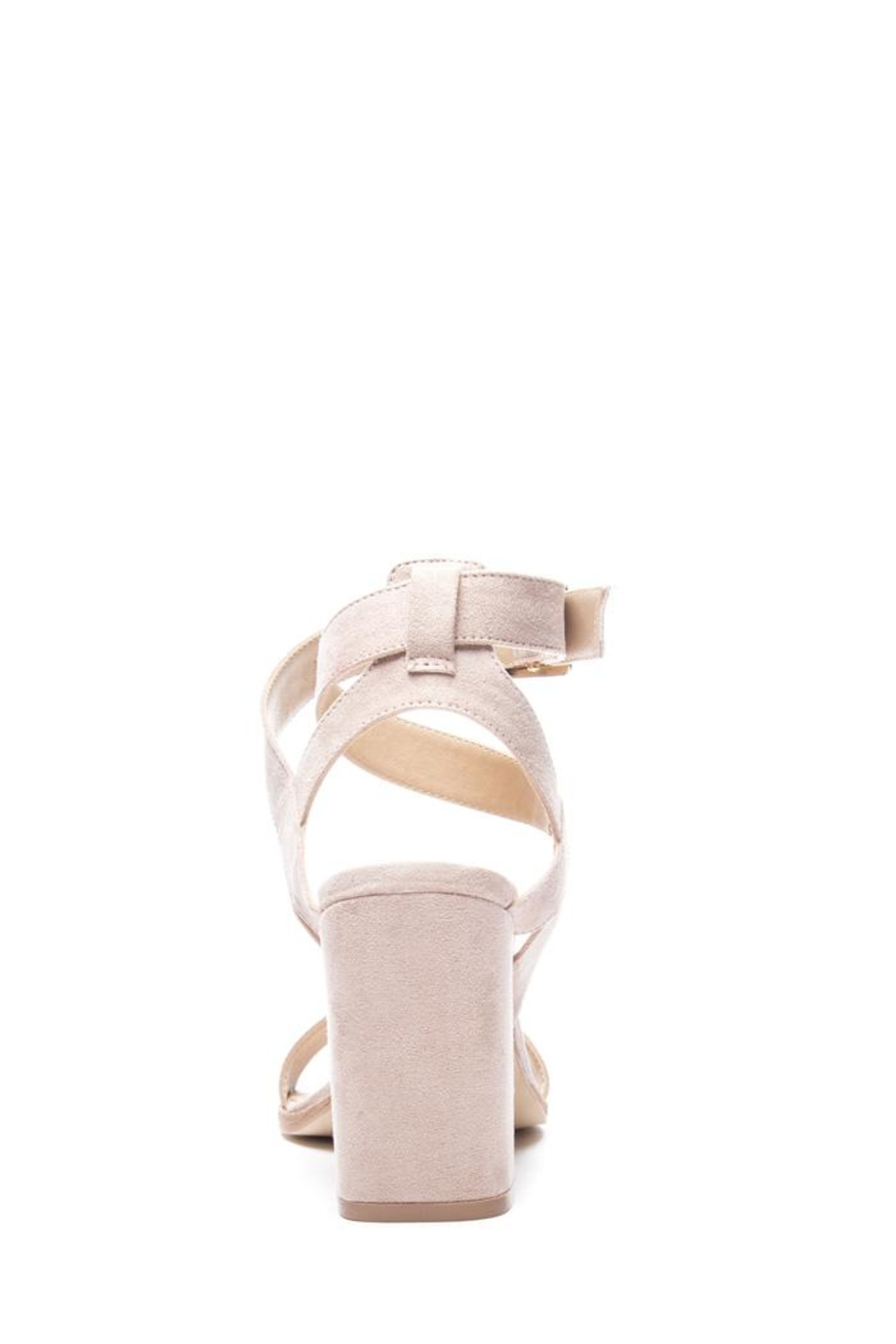 Chinese Laundry Stassi Suede Heel - Back Cropped Image