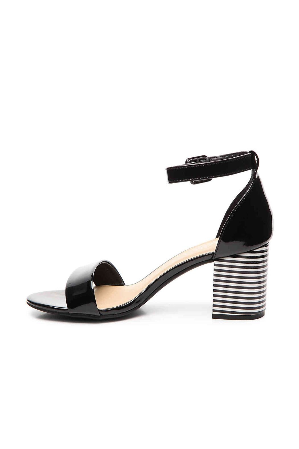 Chinese Laundry Stripe Block Heel - Side Cropped Image