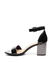 Chinese Laundry Stripe Block Heel - Side cropped