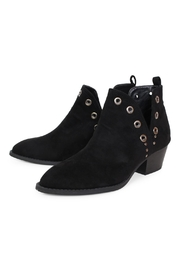 Chinese Laundry Vegan Suede Booties - Back cropped