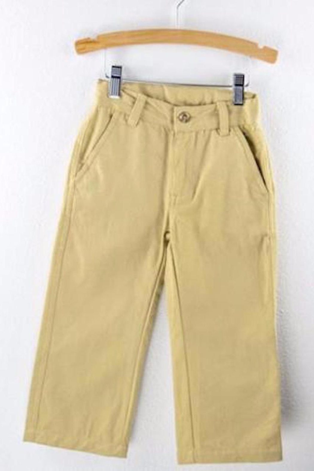Wes and Willy Chino Khaki Pants - Main Image