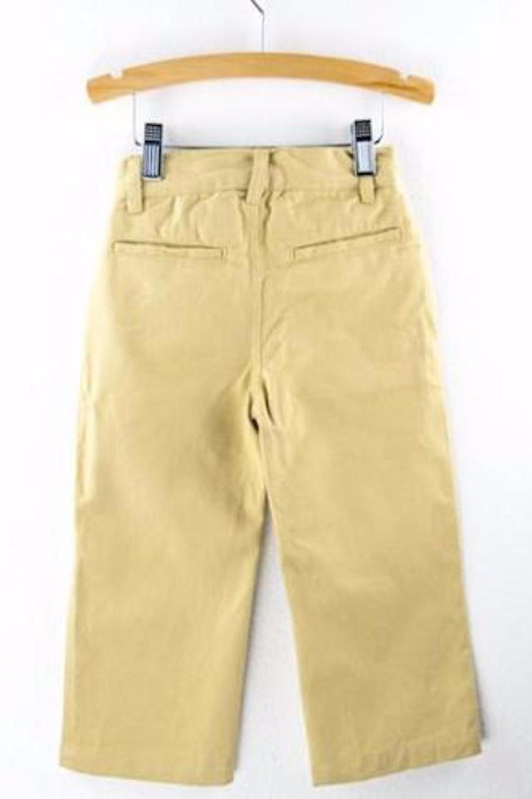 Wes and Willy Chino Khaki Pants - Front Full Image
