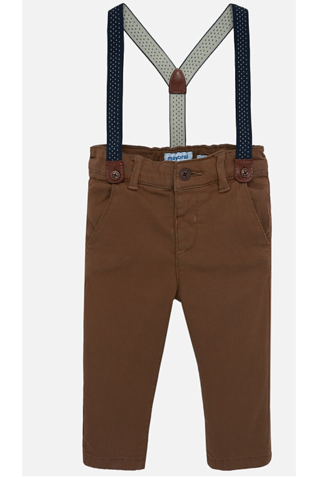 Mayoral Chino Pants - Front Cropped Image