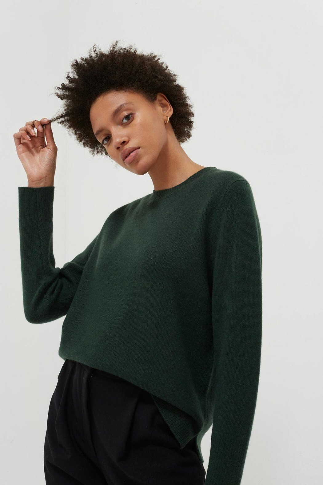Chinti & Parker The Boxy Sweater - Front Cropped Image