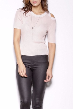 Pink Martini Collection Chip Shoulder Top - Product List Image