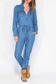 Chiqle Denim Jumpsuit - Product Mini Image
