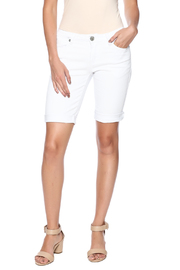 Chiqle White Denim Shorts - Product Mini Image