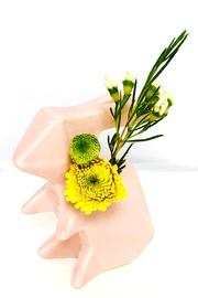Chive Pink Bunny Vase - Product Mini Image